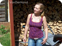 VanDerHand: Sommer...schön dass Du da bist :D Basic Tank Top, Tank Man, Tank Tops, Shirts, Fashion, Summer Recipes, Nice Asses, Moda, Halter Tops
