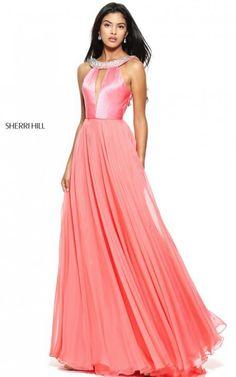 Chiffon Satin Lovely Beads Prom Dress