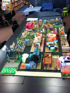 Culmination of rural and urban and structures unit.