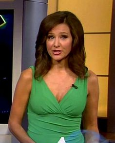 Lea Gabrielle  Fox News  (This amazing woman is an ex-fighter pilot).