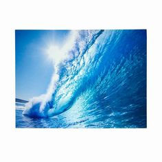 "Ride the Wave Canvas Print Dimensions: 15.75"" W x 23.62"" H 