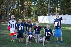 When the whole neighborhood gets together to play #LilPatsFans #Patriots