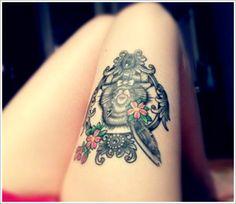 Best representation descriptions: Samoan Leg Tattoo Designs Related searches: Thigh Tattoo Designs,Leg Tattoos for Men Gallery,Best Leg Tat. Cute Thigh Tattoos, Upper Leg Tattoos, Thigh Tattoo Designs, Leg Tattoo Men, Top Tattoos, Best Tattoo Designs, Tattoo Sleeve Designs, Pretty Tattoos, Tattoo Designs For Women