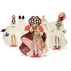 Haute Couture Creative Kit | Inspire fashionable youngsters to design their own ensembles using this set of paper cut out dolls which can be customized with accompanying stickers, iridescent paper and more.