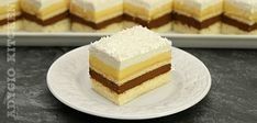 No Cook Desserts, Dessert Recipes, Romanian Desserts, Vanilla Cake, Icing, Cheesecake, Food And Drink, Sweets, Cooking