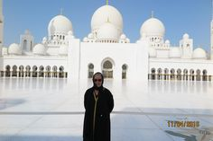 The Grand Mosque is Abu Dhabi is certainly not to be missed if you have the opportunity to visit.