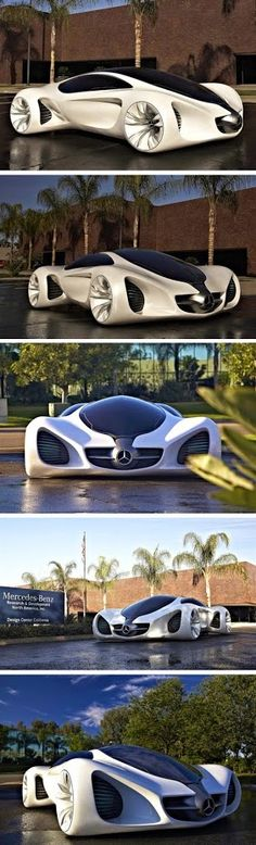 Mercedes Biome Concept. Pretty cool looking car.