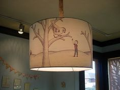 Illustrated Light Shades