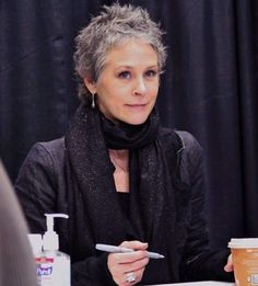 Melissa McBride hair color