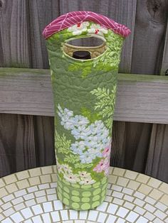 tutorial for a wine tote, cute