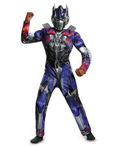 Transformer Optimus Prime Muscle Child Costume – Spirit Halloween