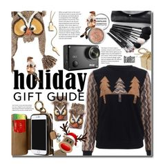 """Gift Guide: Besties"" by beebeely-look ❤ liked on Polyvore featuring Obsessive Compulsive Cosmetics, giftguide, Christmas, besties, holidaystyle and gearbest"