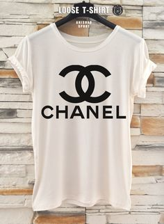 chanel fashion tshirt/white/black tshirt / by ANISHARsport, $18.90 handbags-forwomen.jp.pn $76 Michael kors bags for you,cheap mk handbags for Christmas.