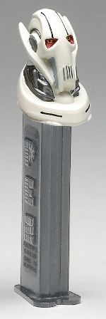 Star Wars Pez - General Grevious ... Sarah and Amanda... Remember all our pez dispensers?!?!