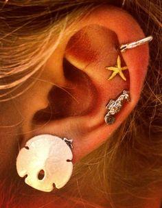 cute earrings #piercings