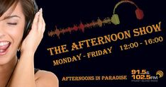 The Afternoon Show is packed full of daily features, entertainment, fun, chit chat, news and nonsense every Monday to Friday with lots of humour. Free Mobile Phone, Birthday Shout Out, Brownie Points, Better Music, Latest News Headlines, Spice Girls, Phuket, Friday, Entertainment