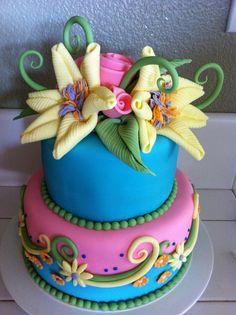 Simple Little Birthday Cake