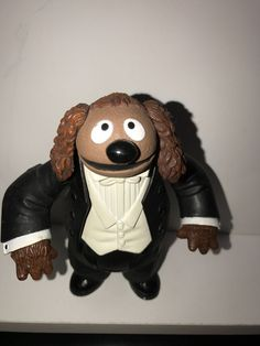 Palisades Muppet Show Tuxedo Rowlf the Dog Action Figure Complete #Palisades