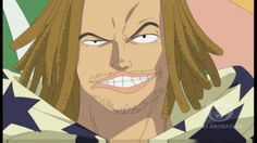 This is Usopp's father. He is the sniper of Red Haired Pirates (Shanks)