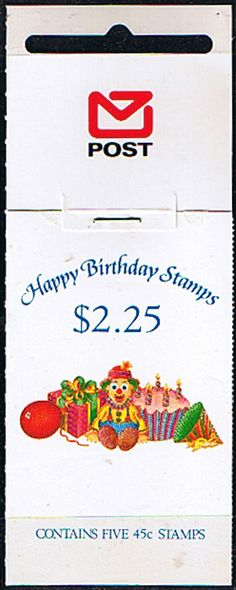 Copy Of New Zealand 1991 SB 56 Happy Birthday Fine Mint SG SB56 Sheetlet 1599a