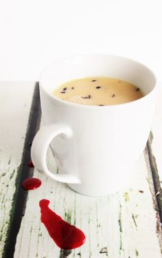 Raspberry & Lavender White Hot Chocolate - Soothing, warm and creamy ...