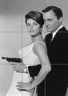 Sixties | Robert Vaughn and Senta Berger, The Man from U.N.C.L.E.