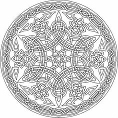 Amazingly Relaxing Free Printable Mandala Coloring Pages for Adults Bring These 15 Magnificent Free Mandala Templates To Life With Vibrant Colors!Bring These 15 Magnificent Free Mandala Templates To Life With Vibrant Colors! Mandala Draw, Celtic Mandala, Mandalas Drawing, Mandala Coloring Pages, Celtic Art, Coloring Book Pages, Zentangles, Celtic Dragon, Celtic Crafts