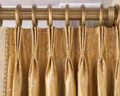 French Pleat, Pinch Pleat, 3 finger pleat, call it what you like, but a traditional drapery pleat which hangs beautifully.