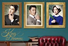 The King of Dramas (2012) This satire of the Korean entertainment industry is a must-see for any Kdrama fan. Kim Myung-min keeps the drama level high (and looks amazing in a suit) while singer Choi Si-won gives an inspired comedic performance as a bubble-headed vain young actor. I would have liked a little more romantic development and the Jane Eyre twist at the end felt forced, but it's still worth watching. - s.e.t.
