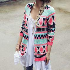 Painted Desert Sweater...