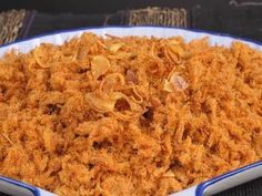 Surinaams eten!: Abon Sapi: drooggebakken krokant Javaans rundvlees