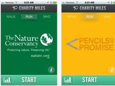 App Earns Money for Charities for Every Mile You Walk, Run, or Bike. This is awesome and will be downloaded as soon as I get home!