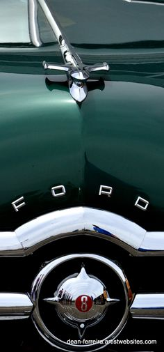 Green Ford Woody - Woodies on the Warf by http://dean-ferreira.artistwebsites.com/index.html