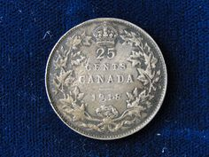 1918 CANADA .925 SILVER QUARTER BETTER DATE COIN KING EDWARD HEAD  Price : $16.95  Ends on : 4 weeks Order Now