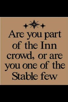 Part of the Inn Crowd?