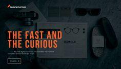 DUNCKELFELD - Site of the Day August 06 2014. Design, interactivity, portfolio.
