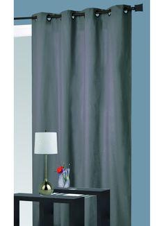 Rideau isolant thermique (Gris), (Pétrole), (Rouge), (Taupe), (Lin), (Ecru), (Prune) - Homemaison : vente en ligne rideaux
