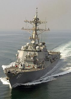 USS Winston S.Churchill, an Arleigh Burke-class guided missile destroyer of the United States Navy and the only USN ship to be named after a non-American dignetary Us Navy Ships, Naval History, British History, Navy Military, United States Navy, Panzer, Aircraft Carrier, Royal Navy, Water Crafts
