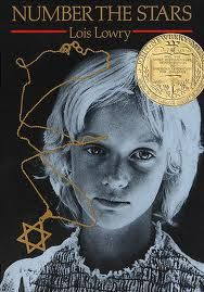"""""""Number the Stars"""" by Lois Lowery - Good book for sixth grade teaching of the Holocaust."""