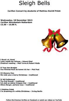 Concert door beiaardleerlingen van de Erasmus Universiteit Rotterdam