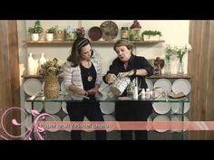 Aprenda a fazer esse lindo vaso feito de, por incrível que pareça, JORNAL! - YouTube