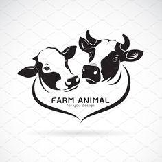 Cow Icon, Cow Png, Cow Drawing, Cow Vector, Alphabet Symbols, Cow Head, Farm Logo, Maori Art, Cattle