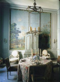 Fritz Von Der Schulenburg World Of Interiors French Antique Interior Decor