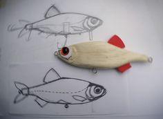 Domáce Fishing Lure Blog: Carving Balsa Návnady