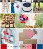 Image detail for -, July 4th & a summer picnic all rolled into one lovely wedding ...