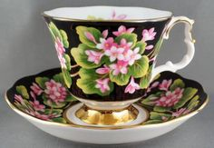 Royal Albert Mayflower Provincial Flowers Chintz