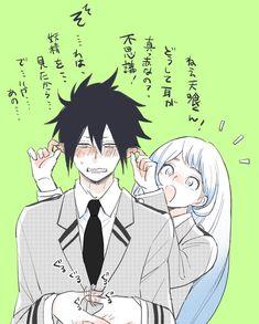 画像 My Hero Academia Episodes, My Hero Academia Memes, Hero Academia Characters, My Hero Academia Manga, Anime Couples Drawings, Cute Anime Couples, Tamaki, Future Boy, Buko No Hero Academia