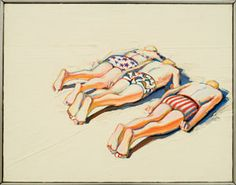 California. Wayne Thiebaud -long time instructor at UC DAvis. Exhibited paintings at  the Norton Simon Art Museum in Pasadena.