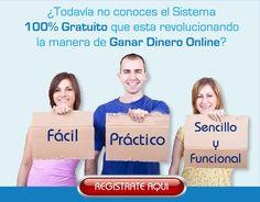 No pierdas más tiempo y comienza a ganar dinero ahora con el sistema que está revolucionando Internet... Regístrate gratis desde el siguiente enlace: http://gananciaz.com/ganardinero/robert65