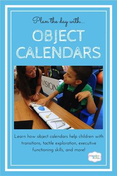 Using an object calendar or calendar box can help blind children transition from one activity to the next and organize their day. We'll show you how to make your own calendar using tactile symbols and how to use it effectively.